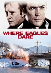 Rent Where Eagles Dare on DVD