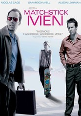 Rent Matchstick Men on DVD