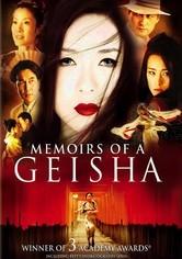 Rent Memoirs of a Geisha on DVD