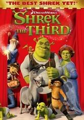 Rent Shrek the Third on DVD