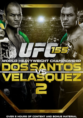 Rent UFC 155: Dos Santos vs. Velasquez 2 on DVD
