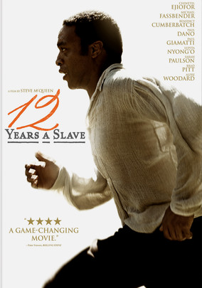Rent 12 Years a Slave on DVD