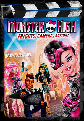 Rent Monster High: Frights, Camera, Action! on DVD