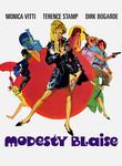 Modesty Blaise (1966) poster