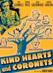 Kind Hearts and Coronets (1949) poster