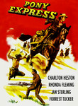 Pony Express (1953) Box Art